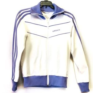 Adidas Originals White/Lilac Track Jacket